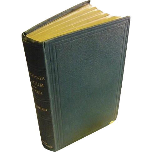 1868 First Edition Antique Synopsis Filicum or A Synopsis of All Known Ferns Sir William Jackson Hooker Plant Victorian Book Colorplates Characters of Each Genus