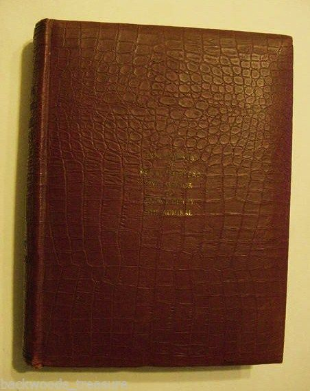 Rare 1899 Presentation Copy Murat Halstead Admiral Dewey Spanish American War Book