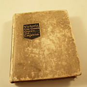 True Miniature Book - Victoria the Good, Queen & Empress - 1897 Jubilee