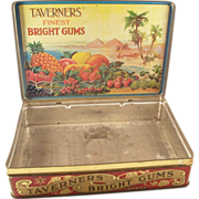 Wonderful English Advertising Store Display - Taverner's Bright Gums