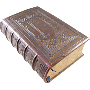 Beautiful Leather Bound Book of Common Prayer - English, 1852