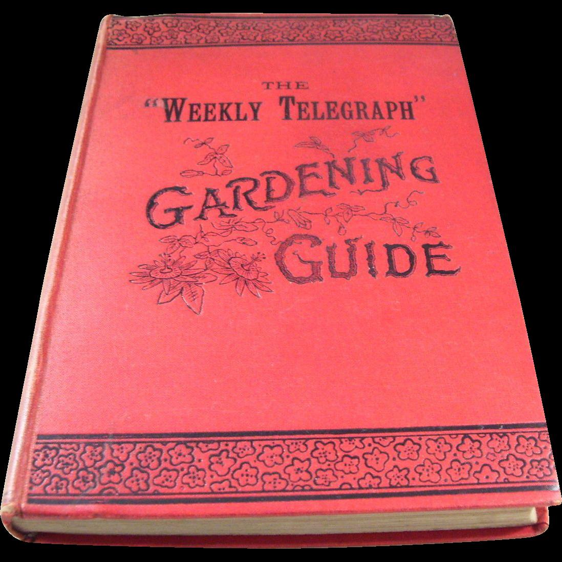 victorian gardening books Container Gardening Ideas