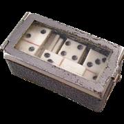 Fantastic Set of Miniature Dominoes in Original Box - Perfect for Dolls