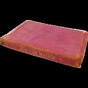 Vintage True Miniature Book - Rip Van Winkle, ca. 1910