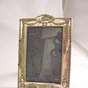 Pretty Edwardian Silverplate photo frame - EPNS - free shipping