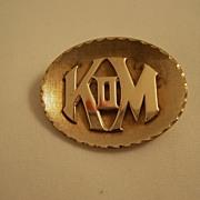 Mardi Gras Krewe Favor - Knights of Momus - New Orleans