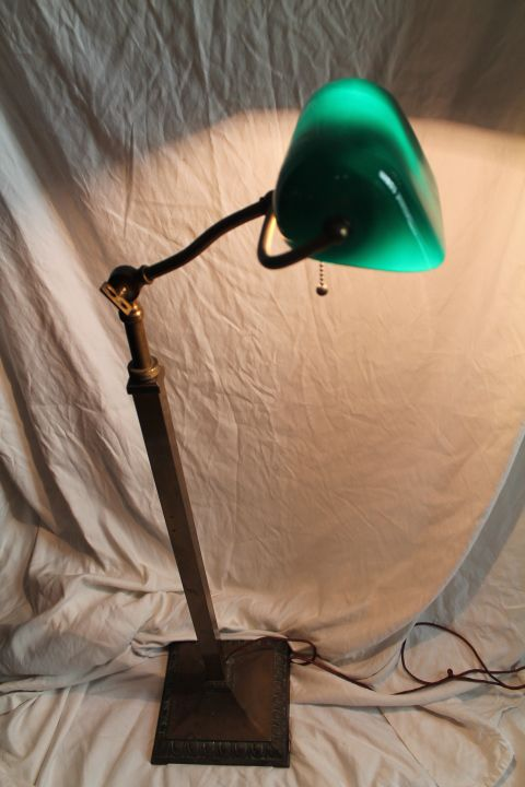 Emeralite #4378 Heavy Fancy Floor Lamp