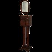Quartersawn Oak Mirrored Shaving Stand