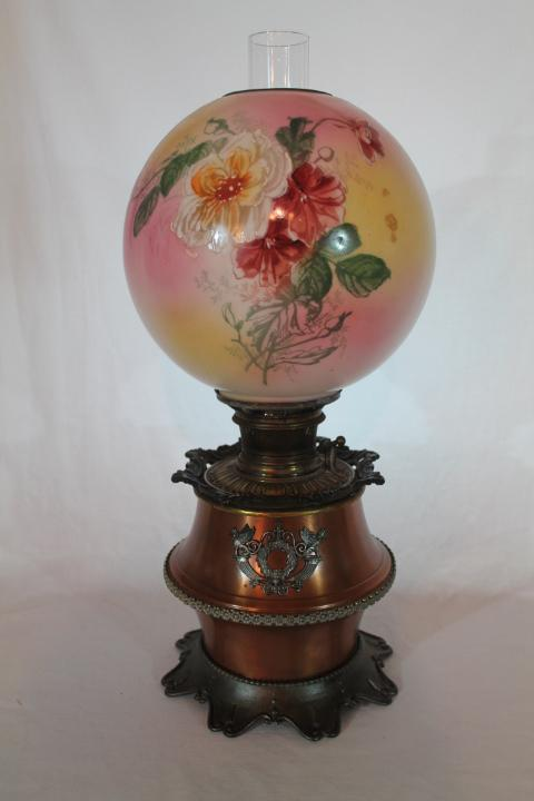 B Amp H Bradley Hubbard Banquet Lamp With Original Shade