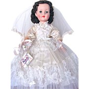 American Character 23-Inch Sweet Sue Walker Bride All Original in Original Box