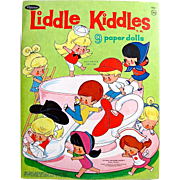 Liddle Kiddles Paper Dolls Uncut Whitman Vintage 1966