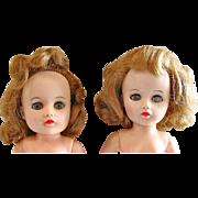 Two Miss Nancy Ann Dolls, TLC, Vintage 1950s