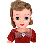 Miss Revlon Doll, 18-Inch Queen of Diamonds, Ideal, Vintage 1956