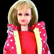Francie Doll and Clothing, Blonde Bend-leg, Mattel, Vintage 1967