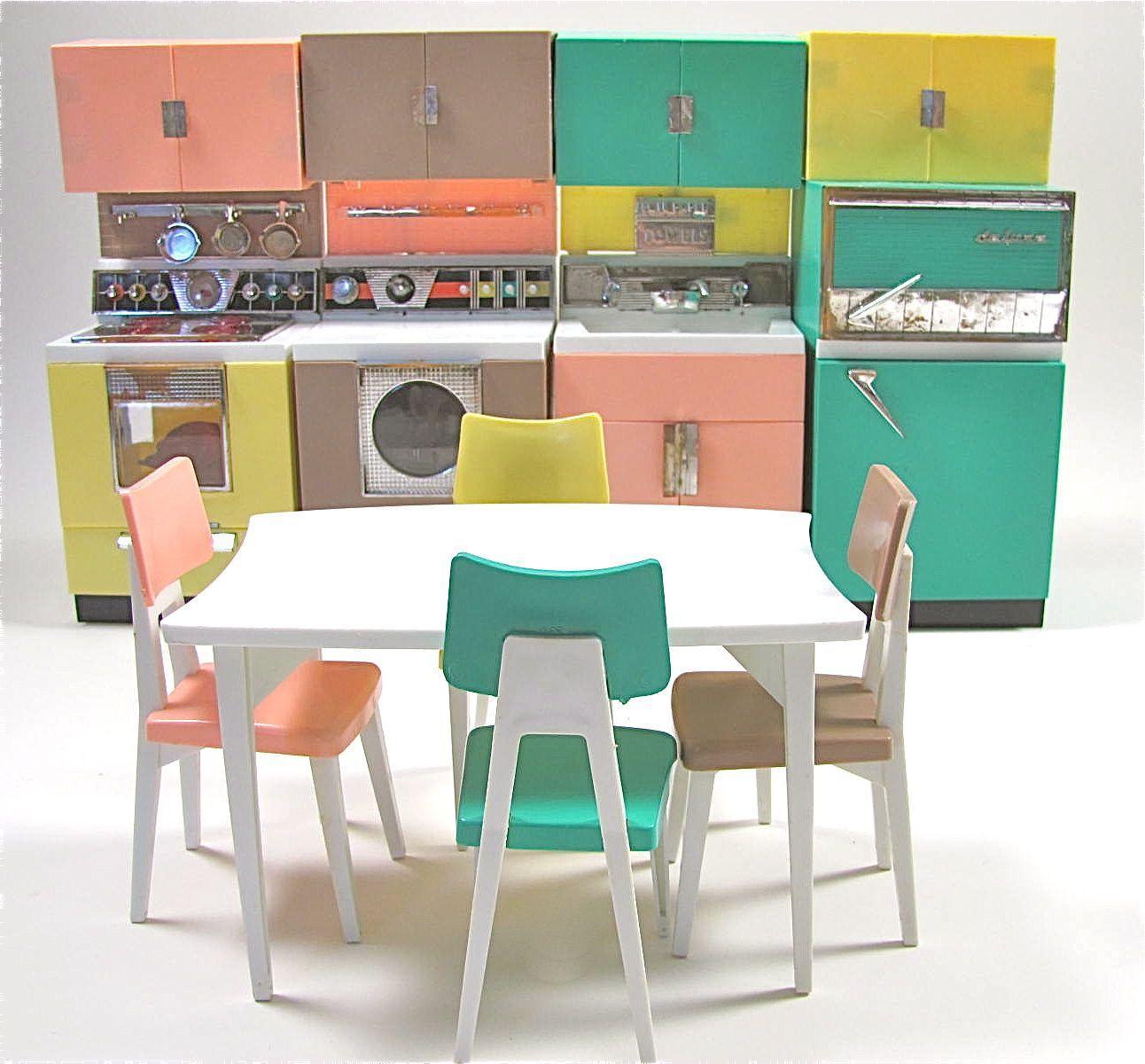 Dream Kitchen Toy: Deluxe Reading Dream Kitchen Set, Fits Barbie Dolls