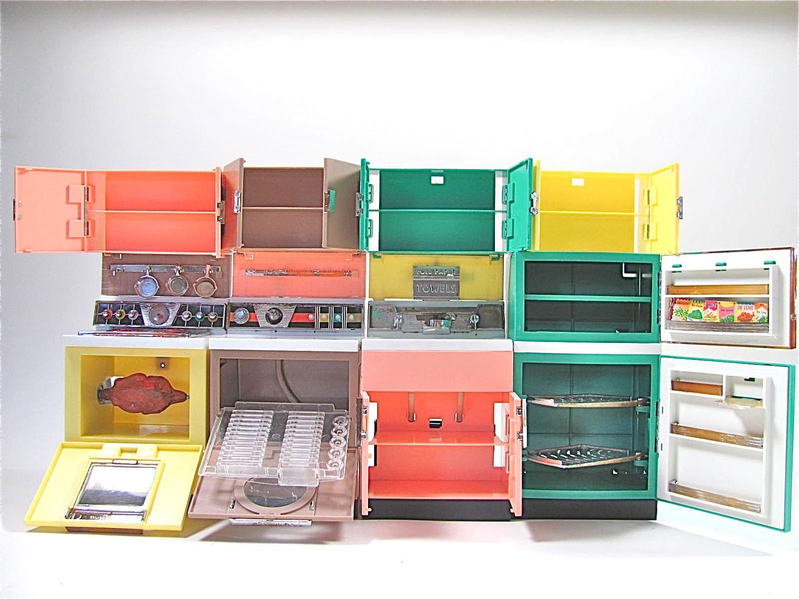 deluxe reading dream kitchen set fits barbie dolls vintage 1961