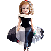 Toni Doll Wearing High Society, American Character, Vintage 1958