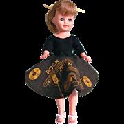 Vogue Jan Doll in Rock N Roll Outfit, Jill's Best Friend, Vintage 1959