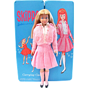Skipper Case, Doll, Wardrobe and Accessories, Mattel, Vintage 1960s, Barbie's Little Sister