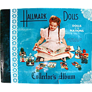 Hallmark Dolls Collectors Album, Dolls of the Nations, Complete, Vintage 1948