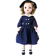 18 Inch Hard Plastic Winnie Walker Madame Alexander Doll, Circa 1953
