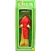 Cher Doll Clothes, Madame Chan Fashion, Red Coat, Mego, Bob Mackie Doll Fashion Vintage 1976