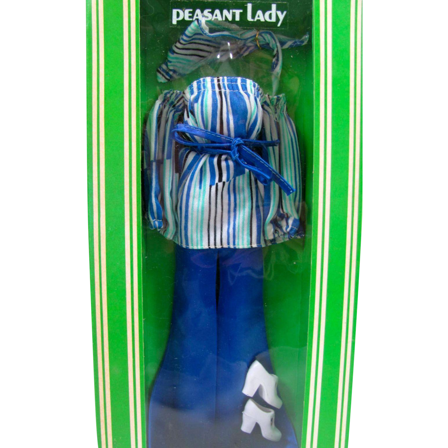 Peasant Lady Fashion, Cher Doll Clothes, Mint In Box, Bob Mackie, Mego, Vintage 1976