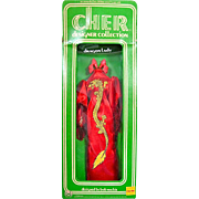 Cher Doll Clothes, Dragon Lady In Original Box, Mego, Bob Mackie, Vintage 1976