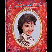 Walt Disney's Annette Coloring Book Whitman Vintage 1961 Unused