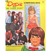 Dodie A Paper Doll Book Artcraft Vintage 1971 Uncut and Complete From My Three Sons