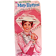 Mary Poppins Paper Doll Book Uncut Whitman Vintage 1973