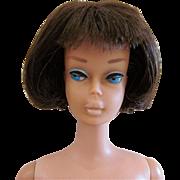 Brunette American Girl Barbie, Mattel, Vintage 1965, Please Read Description