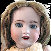 French Antique SFBJ Bisque Head Doll 60 For Restoration