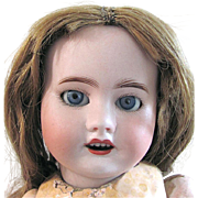French Antique SFBJ Bisque Head Doll 60 For Restoration