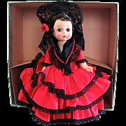 Madame Alexander Spanish Girl, #795, Vintage 1965-72, In Original Box