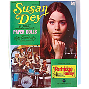 Susan Dey, The Partridge Family Paper Dolls, Boxed Set Complete and Uncut, Original Vintage 1970, Saalfield