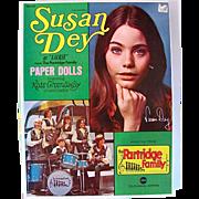 Susan Dey, The Partridge Family Paper Dolls, Boxed Set Complete and Uncut, Original Vintage 1970, Saalfield