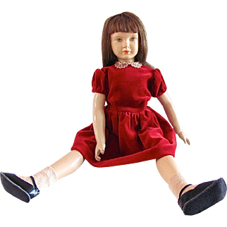 Dewees Cochran Cindy Doll, All Original, circa 1947-48