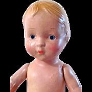Kiddie Pal Doll, 13-Inch Composition Girl, Regal Mfg. Co., Circa 1930s