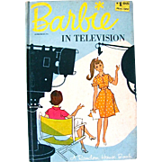 Barbie In Television, Book By Marianne Duest, Copyright 1964