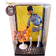 Pop Life Christie, NRFB, Black Barbie Doll, Mattel Gold Label 50th Anniversary