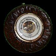 Antique British Barometer, Victorian - Botley & Lewis