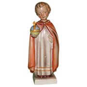 "Hummel - ""The Holy Child"" - Early Version in Rare Larger Size - Full Bee Mark, c early 1950s"