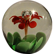 """Forever Flower"" Paperweight, How Nice To Give A Gift that Will Always Be There!"
