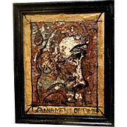 "ALEXANDER GORE (Russian/American b. 1958) - ""Arnament Of Time"" - Original Signed Oil Psainting"