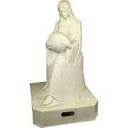 "ENZO GALLO (B. 1927) ""Contemplation II""  Magnificent Marble Sculpture"