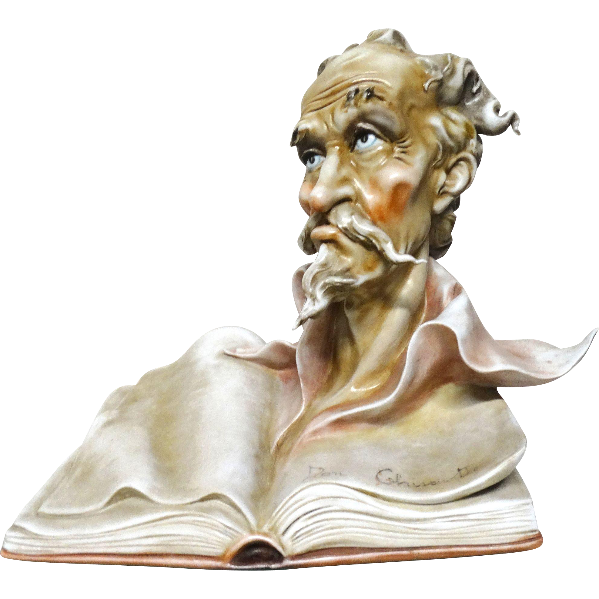 BORSATO (Italian, 1911 - 1982) - Don Quixxote - Wonderful Porcelain by the Master!