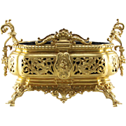 Antique Gilt Bronze Jardiniere