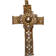 Beautiful Filigree Cross, Perfect Christmas Gift!