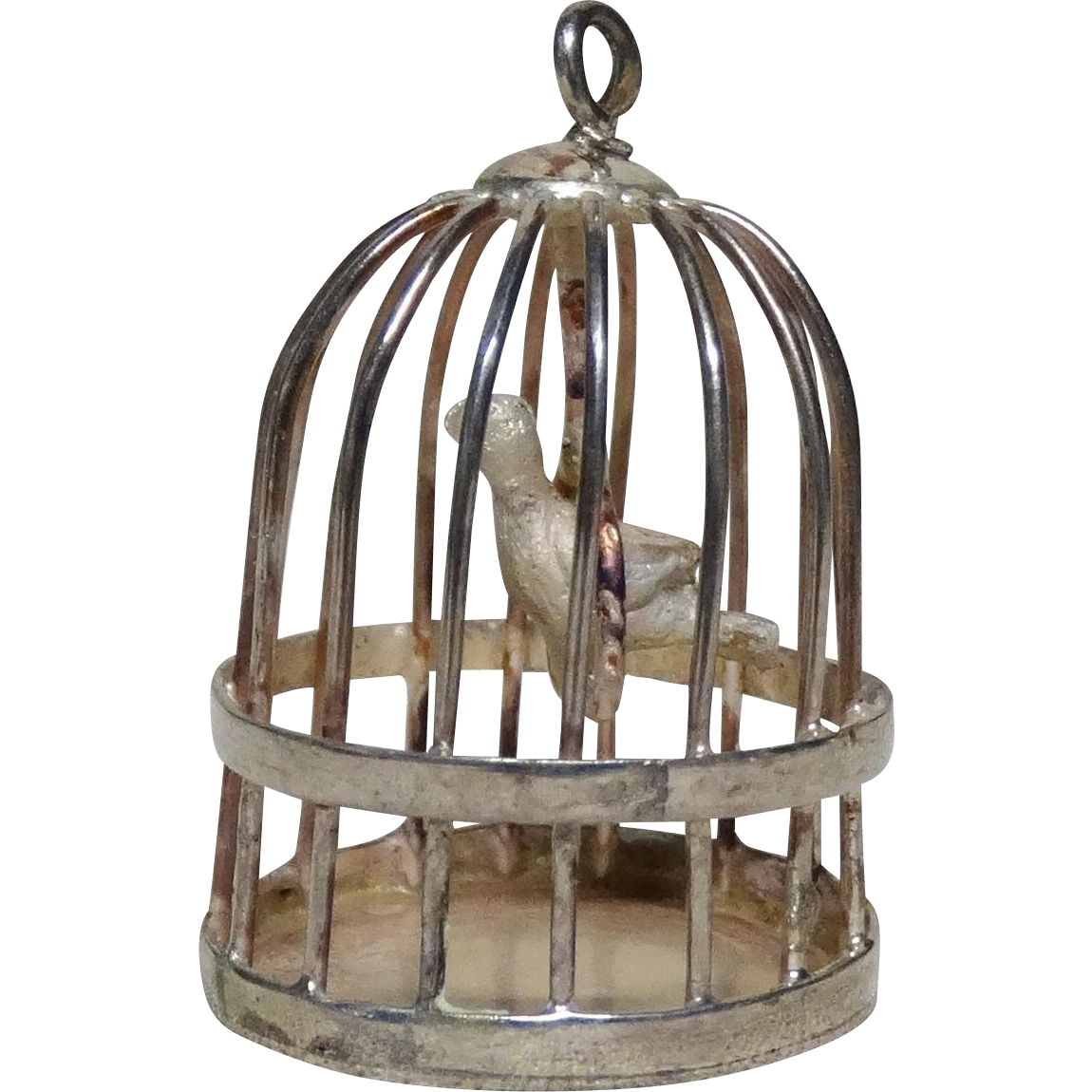 Bird In A Cage - Miniature and Adorable